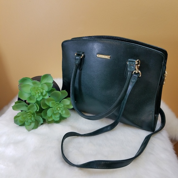 Liz Claiborne Handbags - Liz Claiborne forest green shoulder/ handbag